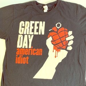 Green Day American Idiot original Bad T-Shirt XL